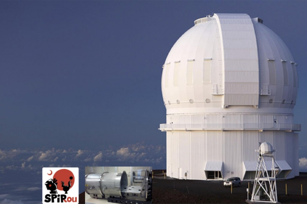 The Canada France HWawii Telescope.