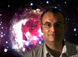 Dr Don Pollacco, astro-physicist and planet hunter from Queens University, Belfast.