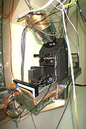 The ELODIE spectrograph ready for operation at the 193 cm Telescoep of l'Observatoire de Haute Provence. Image credit : CNRS / OHP